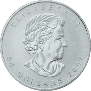 Palladium Canadian Maple Leaf Coin